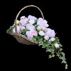 Funeral Flower Arrangements, Funeral Flowers, Floral Arrangements, Funeral Urns, Unique Flowers, Without Makeup, Ikebana, Flower Designs, Most Beautiful Pictures