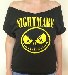 Nightmare Before Christmas tshirt by RetroCoutureandMore on Etsy https://www.etsy.com/listing/252883341/nightmare-before-christmas-tshirt
