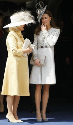 6/13/2011: Order of the Garter service, with Camilla, Duchess of Cornwall (Windsor, Berkshire)