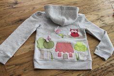 """Pullover & Sweatshirts - Kinder/Damensweatjacke """"Landleben"""" Neue Kollektion - ein Designerstück von milla-louise bei DaWanda"""
