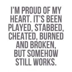 Proud of heart!