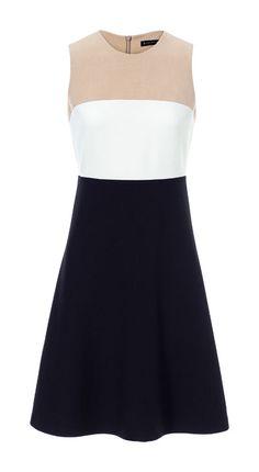 TRICOLOUR MIDI DRESS - Dresses - Woman | ZARA Italy