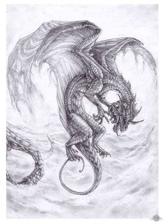 Demon Drawings, Fantasy Drawings, Fantasy Art, Color Sheets, Tattoo Patterns, Dragon Artwork, Dragon Tattoo Designs, Dragon Pictures, Alien Art