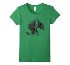 Bear on a Bike T Shirt bears Lover t shirt gift