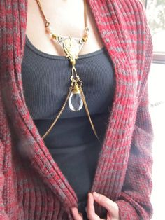 Body Harness Chain Harness Assemblage Jewelry by daniellerosebean, $225.00