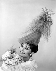 Audrey Hepburn photographed by Cecil Beaton for My Fair Lady