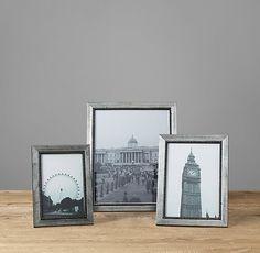 Beaded Fillet Tabletop Frames - Silver