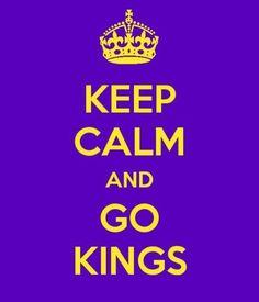 Keep Calm and Go Kings La Kings Stanley Cup, Hockey Teams, Sports Teams, Ontario Reign, La Kings Hockey, Keep Calm Signs, La Art, King Baby, Los Angeles Kings
