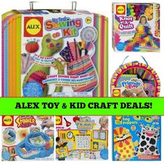 ALEX TOYS & KID CRAFT DEALS up to 50% off!!