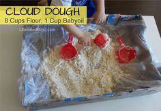 Cloud Dough / Moon Sand Recipe