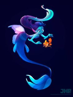 The Character Design Challenge! Character Design Challenge, Character Design Sketches, Character Design Girl, Character Design References, Character Design Inspiration, Mermaid Illustration, Illustration Art, Fantasy, Male Character