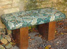 William Morris mosaic bench