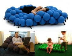 Feel Seating System Deluxe, why did I see this? now I want one......BAD!!