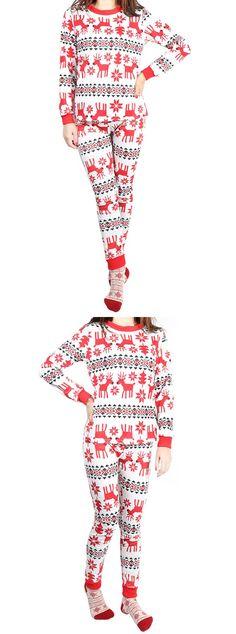 christams pajamas, pajamas for women, christams gift,home pajamas,red pajamas,two piece pajamas,