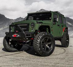 @starwoodmotors Custom Jeep! | #blacklist #starwoodmotors #jeep by black_list