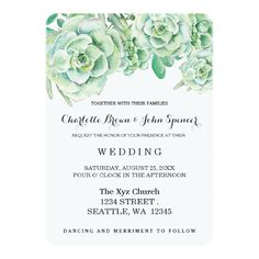 #wedding #invitations with unique watercolor design!