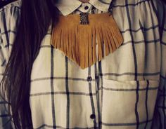 Handcrafted suede mustard necklace. Buy online: http://www.individual.gr/p.CHeiropoiito-souent-kolie-me-krosia.798082.html