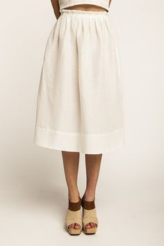 Lumme Pleated Skirt sewing pattern | Named - Stitch 56  - 2