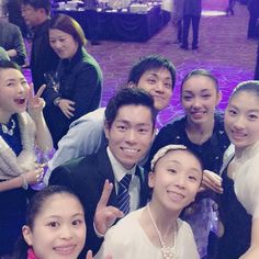 「Thank you for supporting me, everyone♡ I'll do my best at World Junior 全員いないけど、#teamjapan !!! #figureskating #figureskater #4CC2015 #4CCSeoul #happy…」