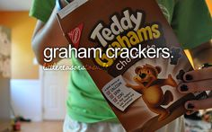 Graham crackers.