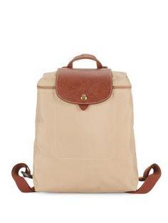 LONGCHAMP Le Pliage Backpack. #longchamp #bags #leather #nylon #backpacks #