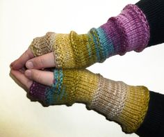 Knit Fingerless gloves | Arm warmers | Womens Fingerless | Long Fingerless Mittens Wrist warmers | Boho Gloves