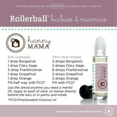 Happy mama rollerball recipe