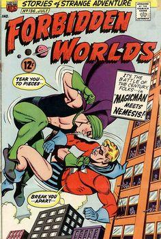 Forbidden Wolds 136, July 1966, cover by Kurt Schaffenberger.