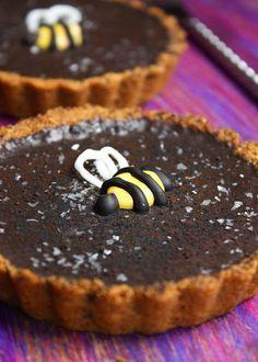 Sprinkle Bakes: Easy Chocolate Tart with Honey Crust
