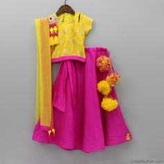 Shop online for Indian Ethnic wear for your baby, toddler or child. Choose from a range of modern or traditional, vibrant and colourful outfits. We also customise Indian Ethnic Wear. Baby Lehenga, Kids Lehenga, Baby Girl Dress Patterns, Baby Girl Dresses, Indian Dresses, Indian Outfits, Indian Clothes, Kids Gown, Traditional Fashion