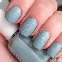 Essie parka perfect with opi pirouette my whistle MATTE