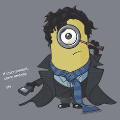 Minion Sherlock by Justin Butler