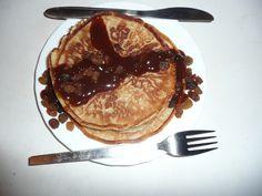 FLUFFY PANCAKES https://tastiedine.wordpress.com/2015/06/07/cinnamon-pancakes-with-raisins/