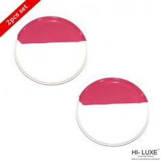 Hi Luxe Metro Quarter Plate Blossom Pink