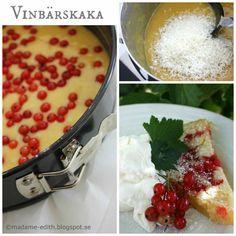 Vinbärskaka | Madame Edith Chana Masala, Hummus, Chili, Soup, Bread, Ethnic Recipes, Homemade Hummus, Chile, Chilis