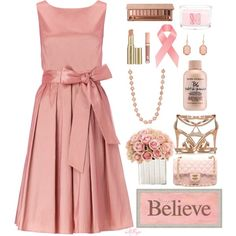 """Simple Pink Set Contest"" by kginger on Polyvore"