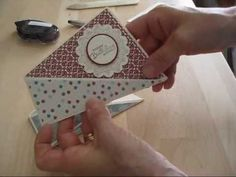 Twist Fold for card www.frenchiestamps.com - YouTube