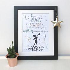 Stars Are Beautiful Peter Pan Print