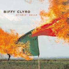 single cover art: biffy clyro - stingin' belle [2012]