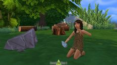 History Challenge CC Prehistory Stuff for Kids at Around the Sims 4