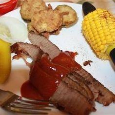 Brisket with BBQ Sauce - Allrecipes.com