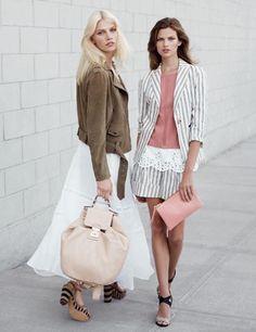 Look a righe Max & CoDalla collezione primavera estate 2013 di abbigliamento Max & Co, look a righe.