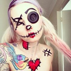 Rag Doll by Pink Pirate. Very cool makeup.