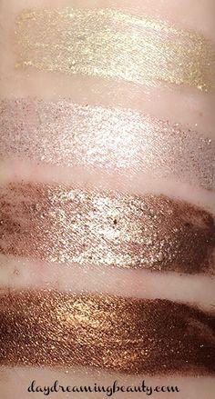 Milani Fierce Foil Eyeshadows - Milan Quad - daydreaming beauty
