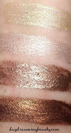 Milani Fierce Foil Eyeshadows - Milan Quad - daydreaming beauty