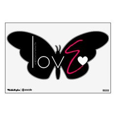 E love wall decals