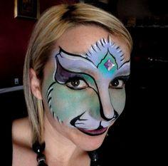 wild face paint!