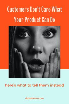 Stop listing all the cool things your product or service can do. Customers don't care! Here's what to tell them instead. marketing   small business   sales   sell   advertise   how to market Business Sales, Small Business Marketing, Content Marketing, Business Tips, To Tell, Don't Care, Cool Stuff, Inbound Marketing