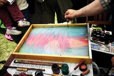 bLog abOut my_stay IN. TOGETHER ! FRance: marbling or EBRU art @ vOICE OF aRt