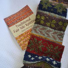 Beautiful!   Dan's Double Knit Aran New Yorker